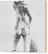 Nude 44 Wood Print