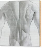 Nude 7a Wood Print