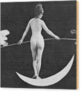 Nude Allegory, 1890s Wood Print