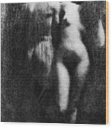 Nude Couple, 1910 Wood Print