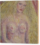 Nude Fantasy Wood Print