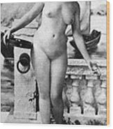 Nude In Venice, 1902 Wood Print