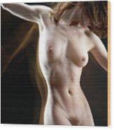 Nude-pate1 Wood Print