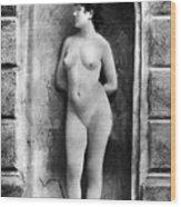 Nude Posing, C1885 Wood Print