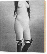 Nude Posing, C1888 Wood Print