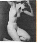 Nude Posing, C1910 Wood Print