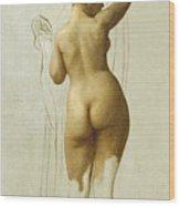 Nude. Queen Rodophe Wood Print