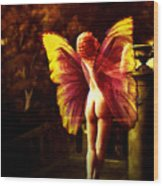Nude Roman Fairy Wood Print