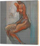 Nude-ste Wood Print