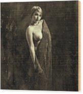 Nude Woman Model 1722  019.1722 Wood Print
