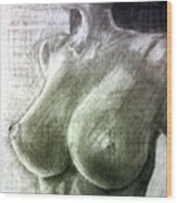 Nude Woman V Wood Print