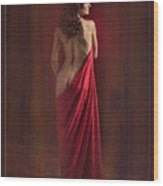 Nude Young Woman 1718.01 Wood Print