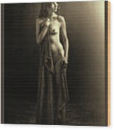 Nude Young Woman 1718.501 Wood Print