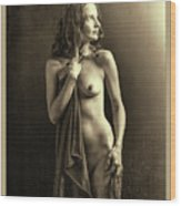 Nude Young Woman 1718.502 Wood Print