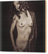Nude Young Woman 1718.503 Wood Print