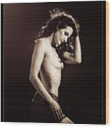 Nude Young Woman 1718.504 Wood Print