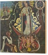 Nuestra Senora De Ocotlan II Wood Print
