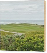 Number 1 From The Whites At Spanish Bay Wood Print