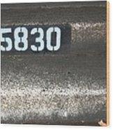 Numbers Wood Print