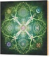 Numinosity Mandala Wood Print