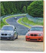 Nurburgring Race Track Wood Print