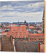 Nuremberg Altstadt Wood Print