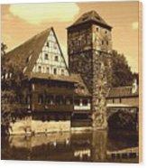 Nuremberg Wood Print