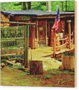 Nuthatch Studio Wood Print