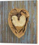 Nutty Love Affair Wood Print