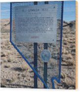 Nv-142 Old Spanish Trail Mountain Springs Pass Wood Print