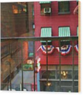 Ny Architecture Paint  Wood Print