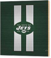 Ny Jets Football Wood Print