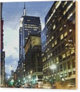 Nyc Fifth Ave Wood Print