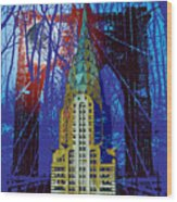 Nyc Icons Wood Print by Gary Grayson