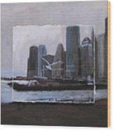 Nyc Pier 11 Layered Wood Print