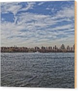 Nyc Skyline From Williamsburg Wood Print