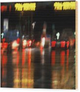 Nyc Toll Booth Wood Print