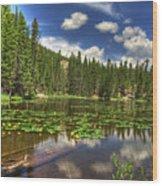 Nymph Lake 2 Wood Print