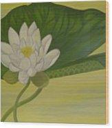 Nymphaea Alba Wood Print