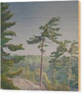 O Canada No.1 Wood Print