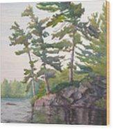 O Canada No.2 Wood Print