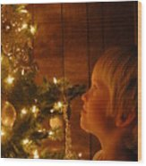 O Christmas Tree Wood Print