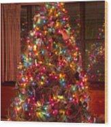 O Christmast Tree Wood Print