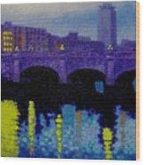 O Connell Bridge - Dublin Wood Print