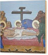 O Epitafos Jesus Wood Print