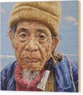 O Mr Mountain Baguio Wood Print