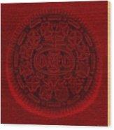 O R E O In Red Wood Print