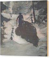 O Tannenbaum Wood Print by Elizabeth Carr