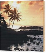 Oahu, North Shore Wood Print