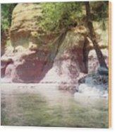 Oak Creek Sedona Wood Print